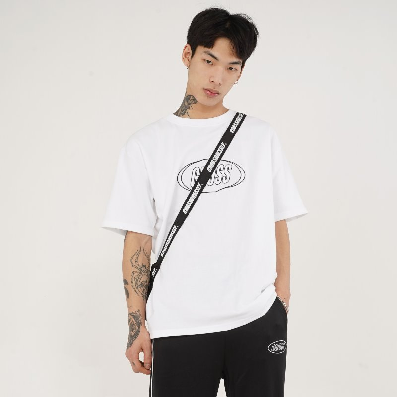 CIRCLE LOGO T-SHIRT_WHITE