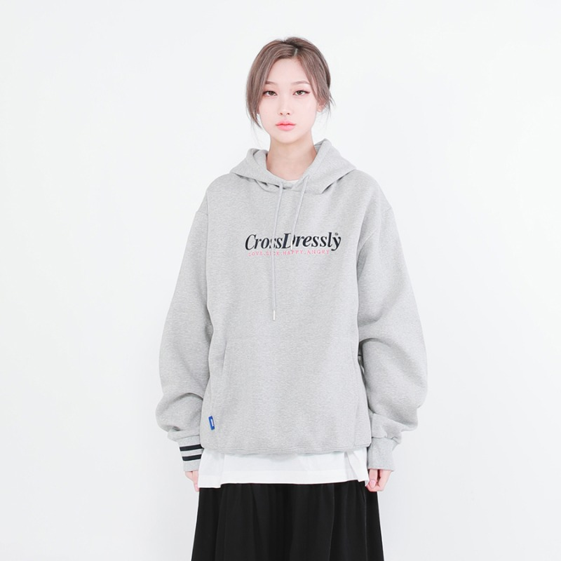 DOUBLE POINT VINTAGE HOODIE_GREY
