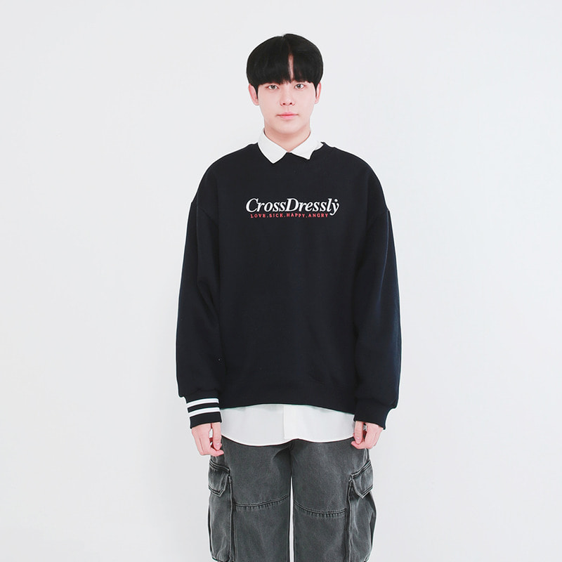 DOUBLE POINT VINTAGE SWEATSHIRTS_NAVY