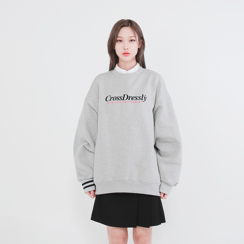 DOUBLE POINT VINTAGE SWEATSHIRTS_GREY